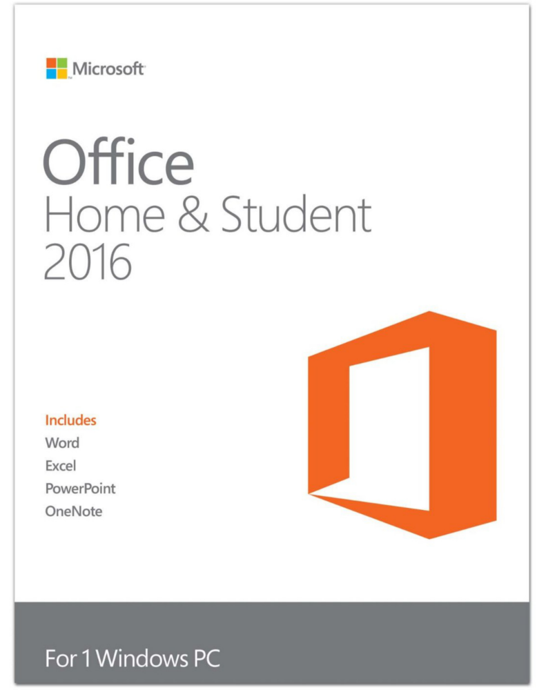 Microsoft Office 2016 Home & Student (Windows)