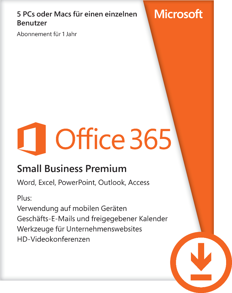 Verlenging Microsoft Office 365 Small Business Premium
