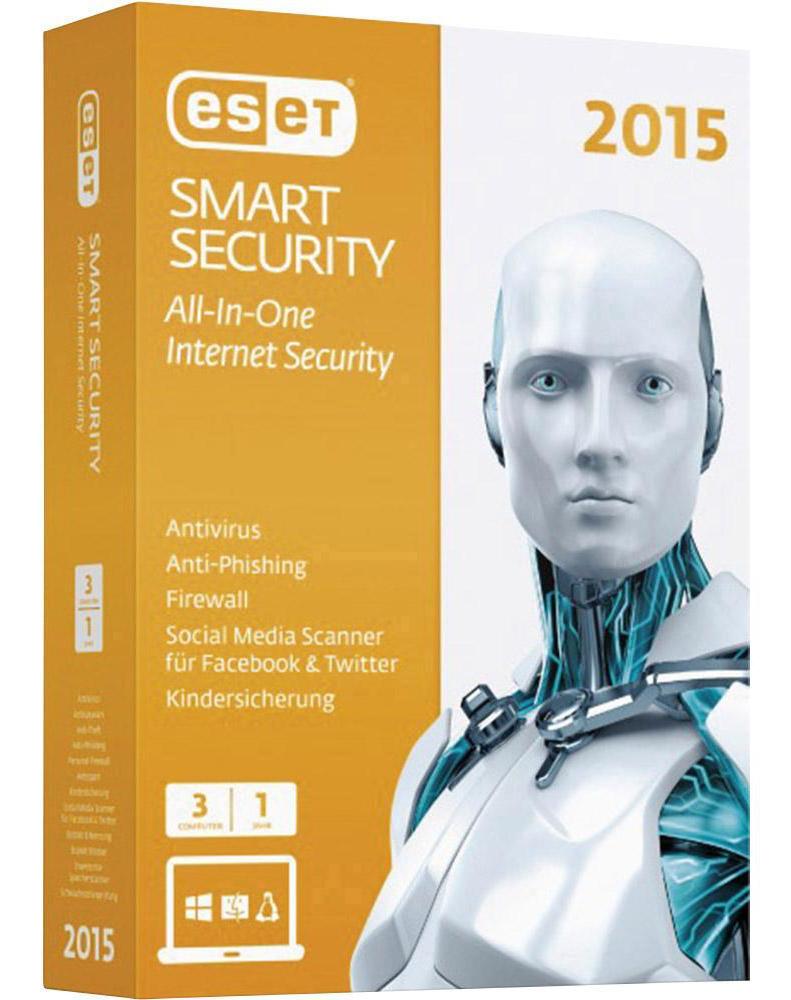 ESET Smart Security 1 jaar