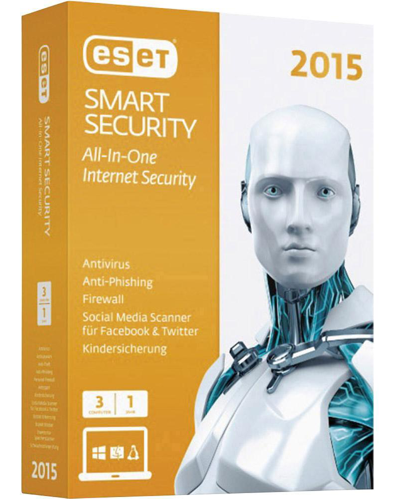 ESET Smart Security 3 jaar