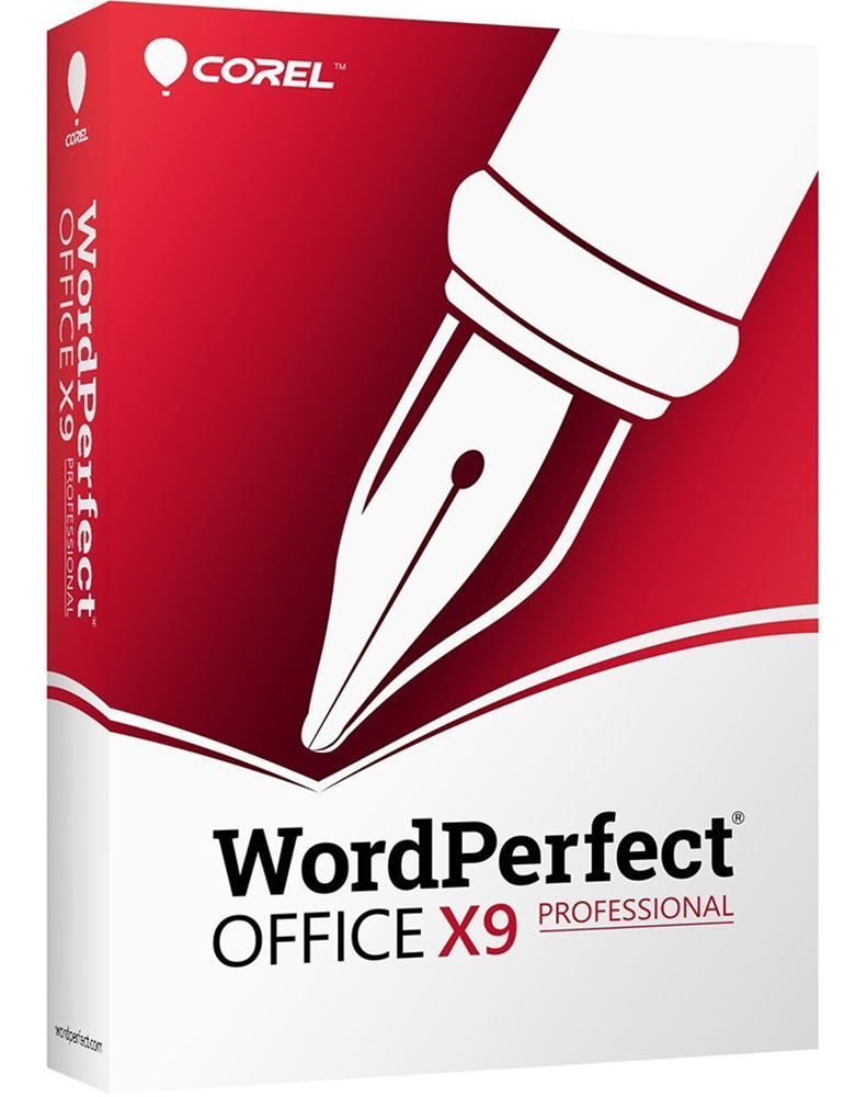 WordPerfect Office X9 – Professionele Editie Upgrade