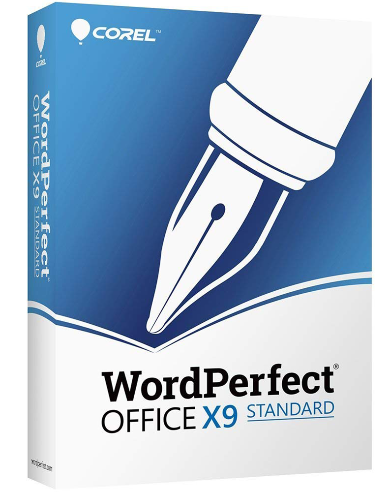 WordPerfect Office X9 – Standaard Editie Upgrade