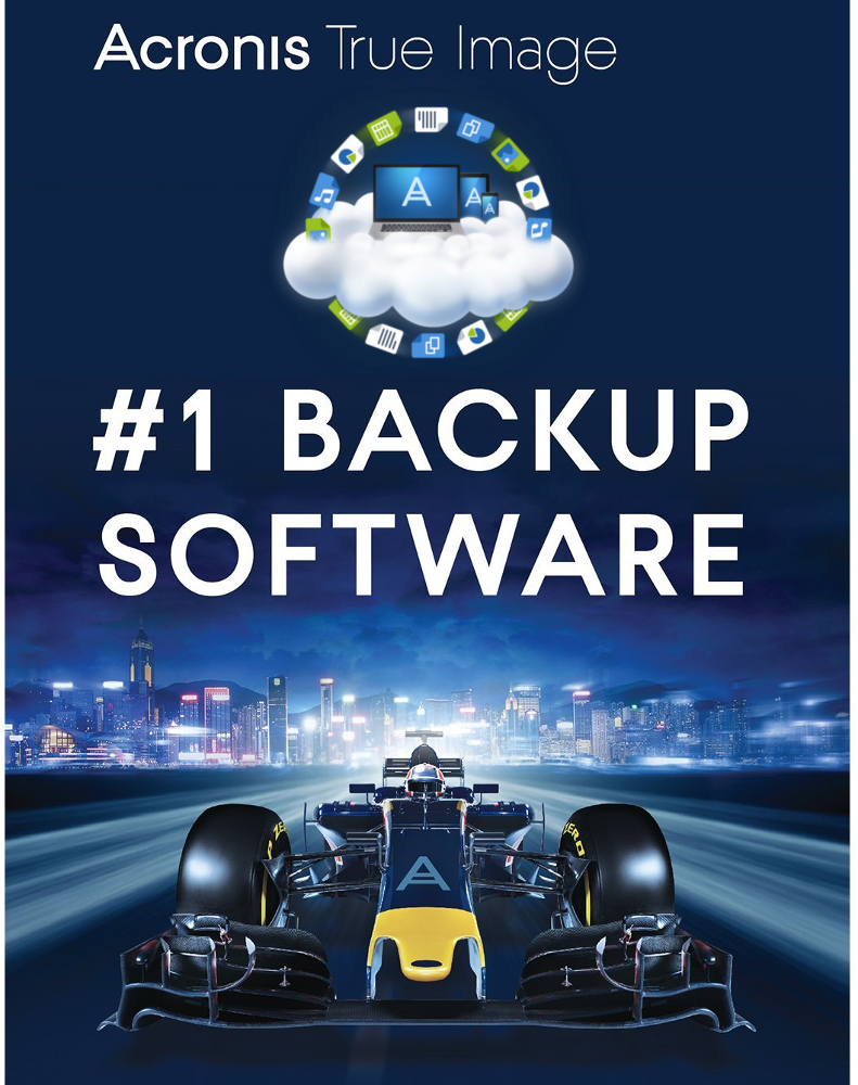 Acronis True Image 2018 Advanced (1 year - 5 devices)