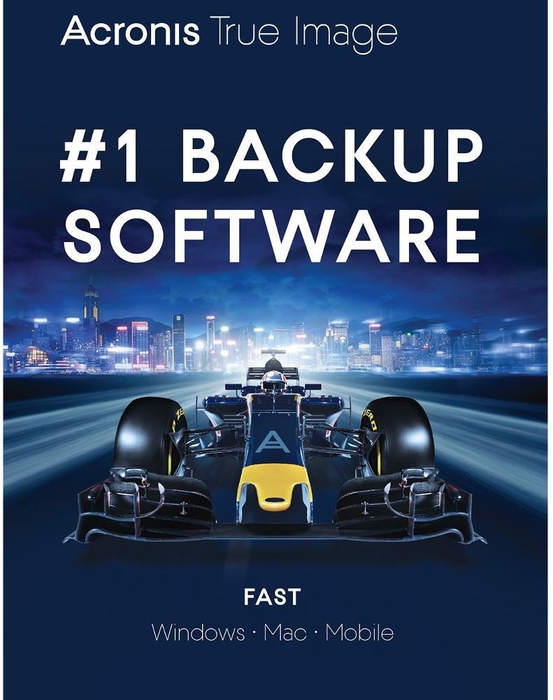 Acronis True Image 2018 (3 apparaten)