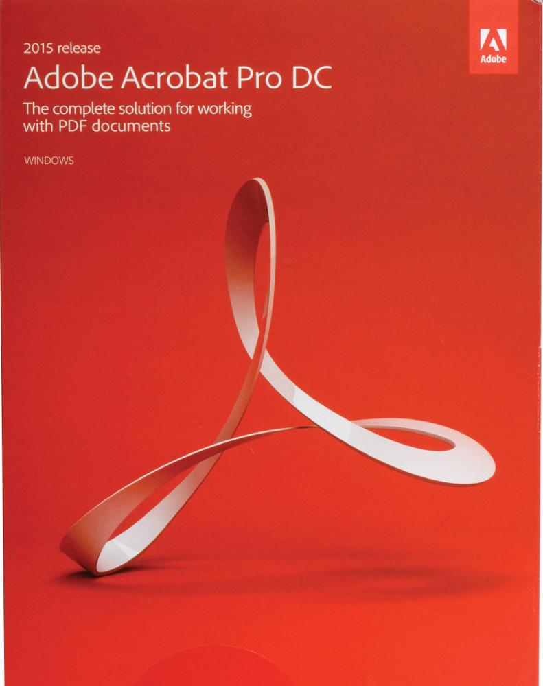 Adobe Acrobat Pro 2017 Engels