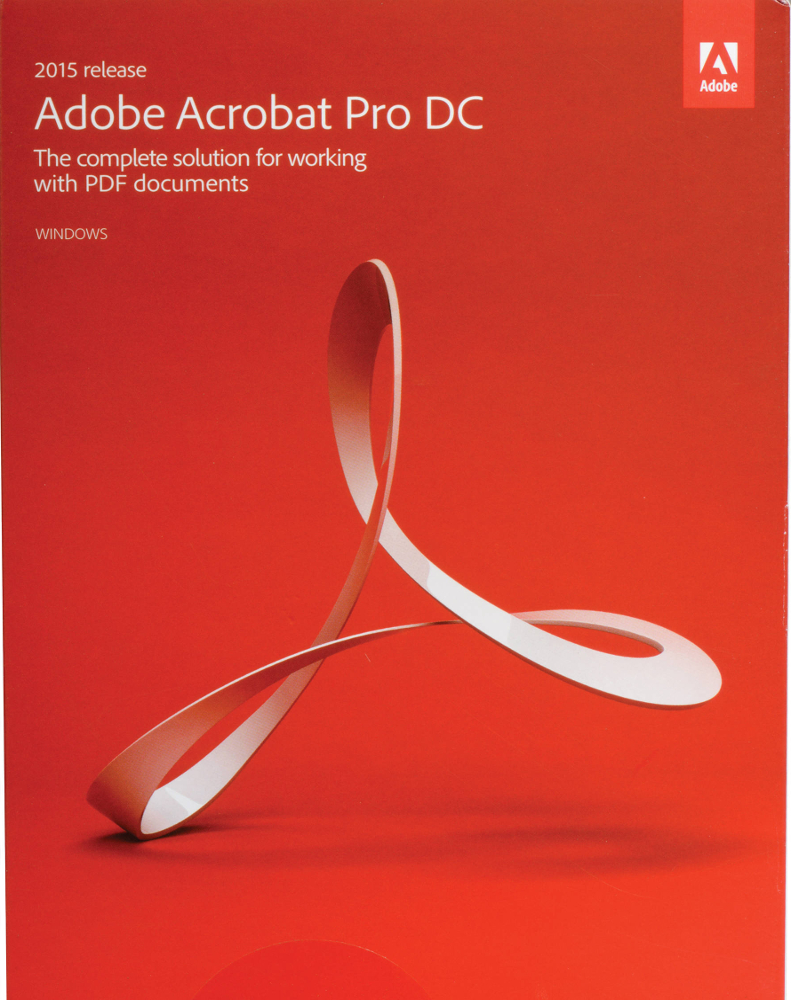 Adobe Acrobat Pro 2017 - alleen voor Studenten en Docenten (zie voorwaarden)