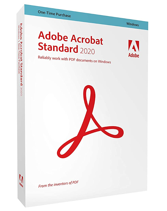 Adobe Acrobat Standaard 2020 (Windows)