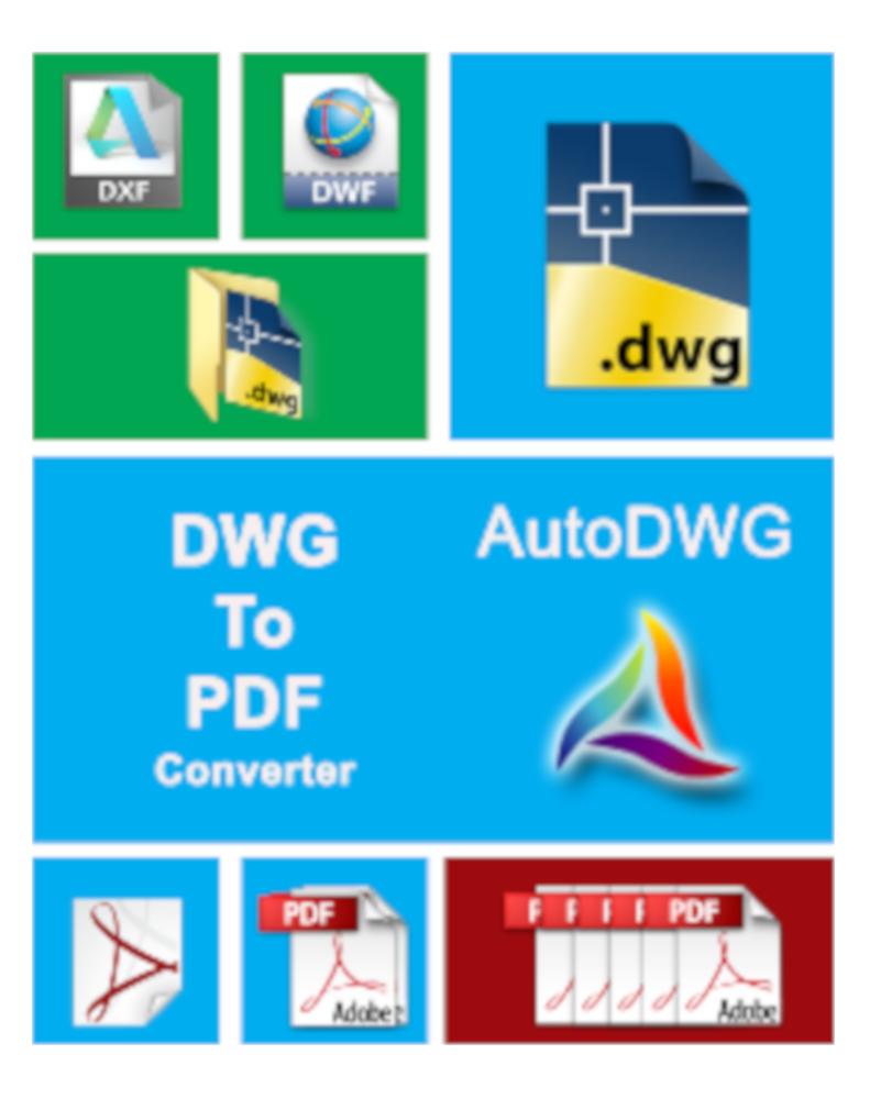 AutoDWG DWG to PDF Converter 2019 Server License