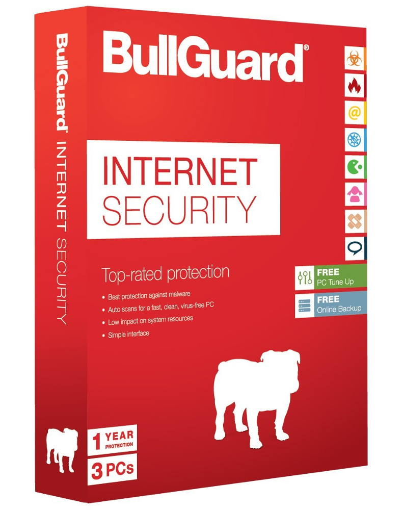 Bullguard Internet Security (3 devices - 1 jaar)