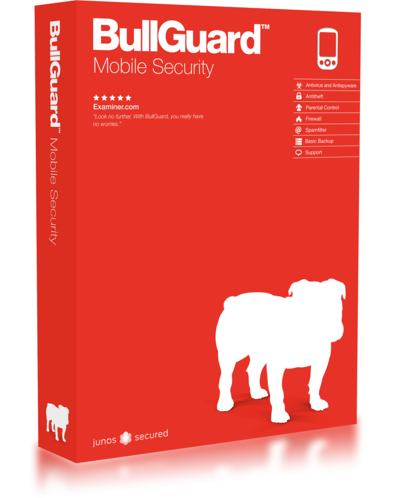 Bullguard Mobile Security (3 devices - 1- jaar)