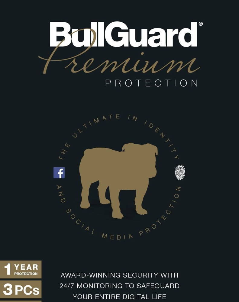 Bullguard Premium Protection (3 devices - 1 jaar)