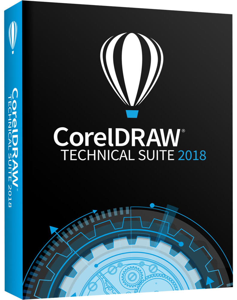 CorelDRAW Technical Suite 1-jaar abonnement