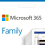 Microsoft 365 Family - 1 jaar abonnement