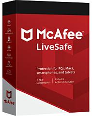 McAfee LiveSafe (1 jaar)