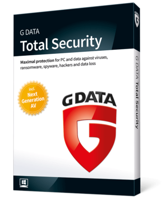 G Data Total Security (4-PC 2-jaar)