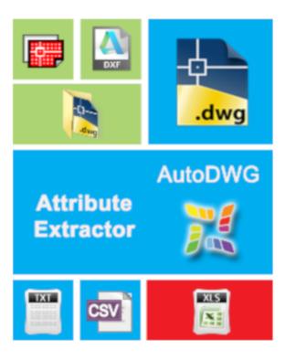 AutoDWG Attribute Extractor 2019