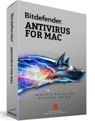 Bitdefender Antivirus 2020 voor Mac (3-Mac 1 jaar)
