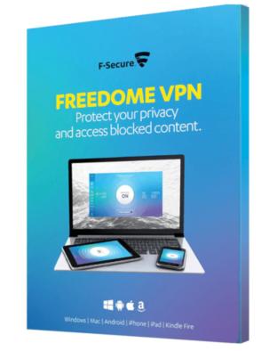 F-Secure Freedome VPN (5-Devices 1 jaar)