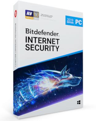 Bitdefender Internet Security 2020 (1-PC 3 jaar)