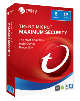 Trend Micro Maximum Security (3-PC 1 jaar)