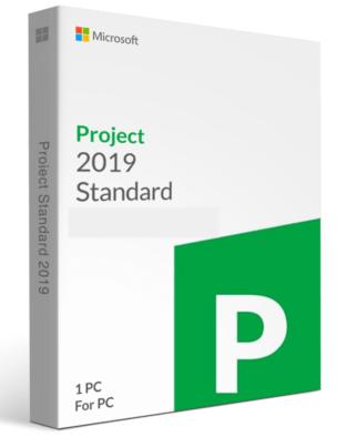 MicrosoftProject 2019 Standaard