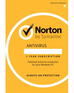 Norton Antivirus (3 PCs - 1 jaar)