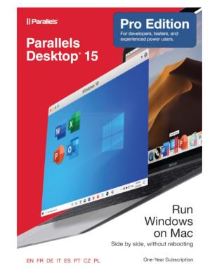 Parallels Desktop Pro Editie (1-Jarig Abonnement)