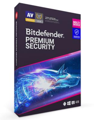 Bitdefender Premium Security (10-PC 1 jaar)