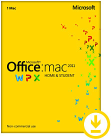 Microsoft Office voor Mac 2011 Home & Student