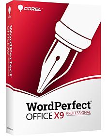 WordPerfect Office X9 – Professionele Editie Upgrade