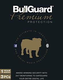Bullguard Premium Protection (10 devices - 3 jaar)