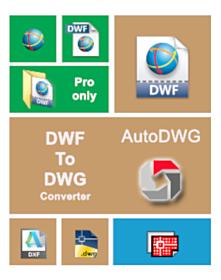 AutoDWG DWF to DWG Converter 2019 PRO
