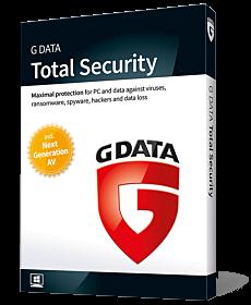 G Data Total Security (4-PC 1-jaar)