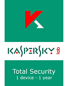 Kaspersky Total Security (1 device - 1 jaar)