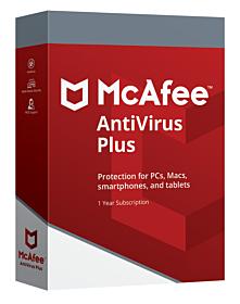 McAfee Antivirus Plus (10 PC - 1 jaar)
