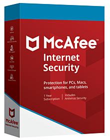 McAfee Internet Security (3 devices - 1 jaar)
