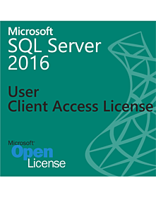 Microsoft SQL Server 2016 - User Client Access License (1 User CAL) OLP