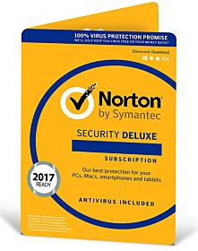 Norton Security Deluxe (5 apparaten - 3 jaar)