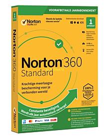 Norton 360 Standaard (1 device - 1 jaar)