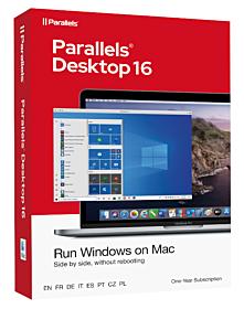Parallels Desktop 16 voor Mac (1-Jarig Abonnement)