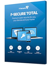 F-Secure Total (5-Devices 1 jaar)