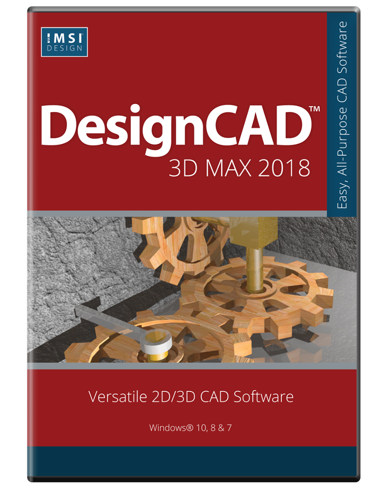 TurboCAD DesignCAD 3D Max 2018