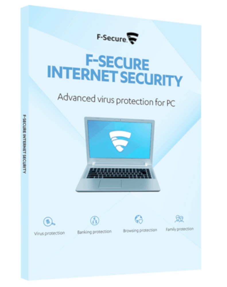 F-Secure Internet Security (1-PC 1 jaar)