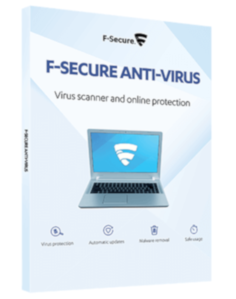 F-Secure Anti-Virus (1-PC 1 jaar)