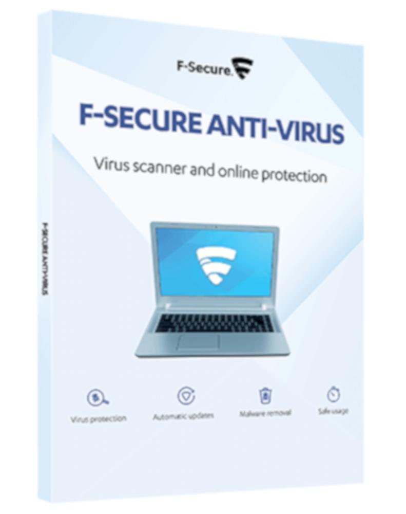F-Secure Anti-Virus (1-PC 1 year)