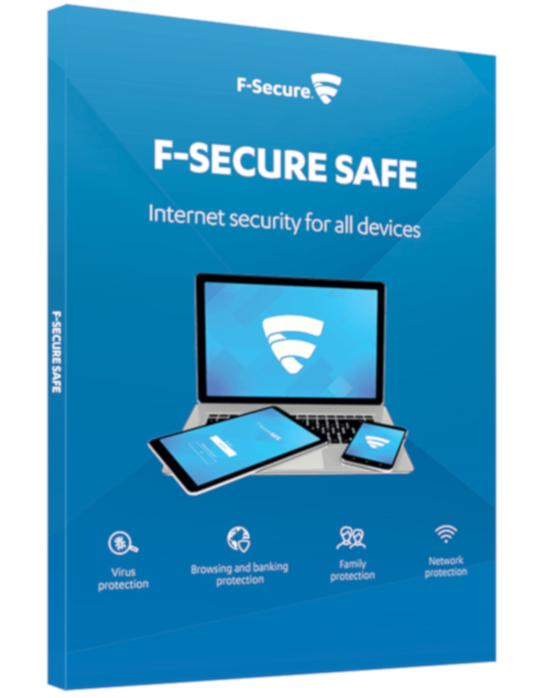 F-Secure Safe (5-Devices 2 jaar)