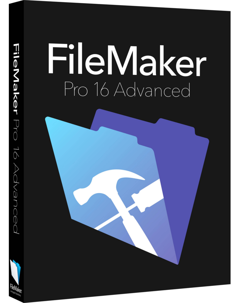 FileMaker Pro Advanced v16 -Upgrade*