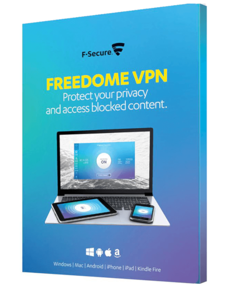 F-Secure Freedome VPN (5-Devices 1 jaar)