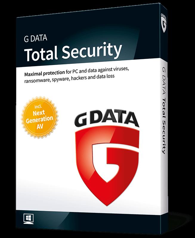 G Data Total Security (2-PC 1-jaar)