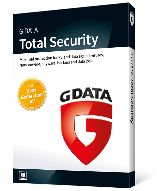 G Data Total Security (4-PC 1-jaar)